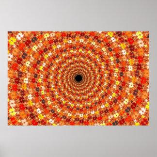 Hypno Orb - Fractal Poster