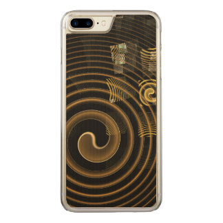 Hypnosis Abstract Art Carved iPhone 7 Plus Case