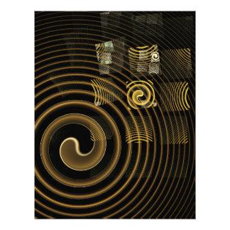 Hypnosis Abstract Art Letterhead