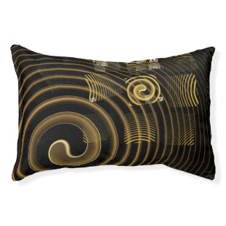 Hypnosis Abstract Art Pet Bed