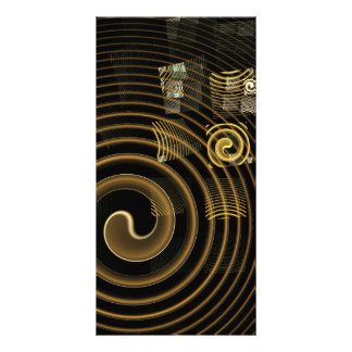 Hypnosis Abstract Art Photo Card