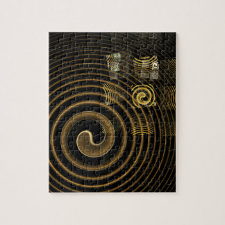 Hypnosis Abstract Art Puzzle