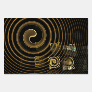 Hypnosis Abstract Art Sign