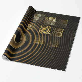 Hypnosis Abstract Art Wrapping Paper