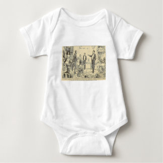 Hypnosis Drawing Baby Bodysuit