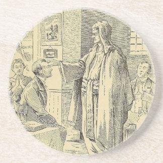 Hypnosis Drawing Coaster