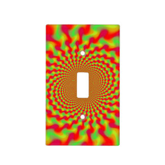 Hypnosis Fractal Light Switch Cover