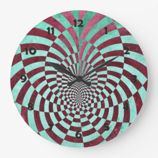 Hypnosis Large Clock