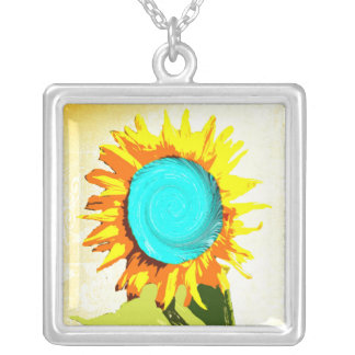Hypnosis Sunflower Necklace
