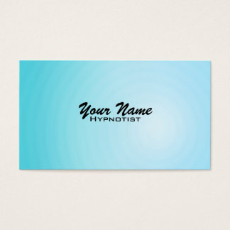 Hypnosis Therapy Business Cards