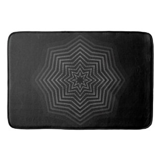 Hypnotic Bathroom Mat