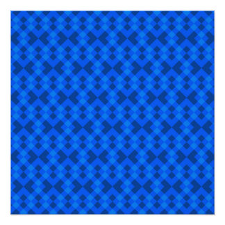 Hypnotic Blue Perfect Poster