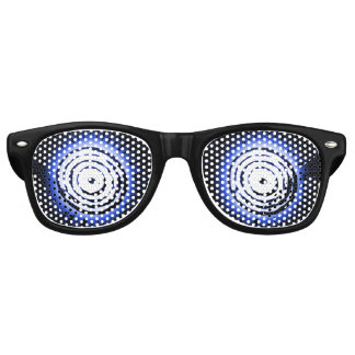 Hypnotic Blue Suns Retro Sunglasses