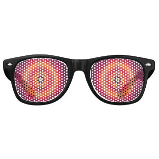 Hypnotic Bull's Eye Circular Party Shades