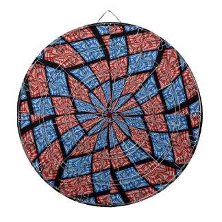 Hypnotic Bullseye Dartboard With Darts