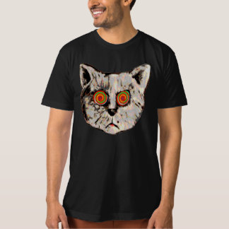 hypnotic cat eyes T-Shirt