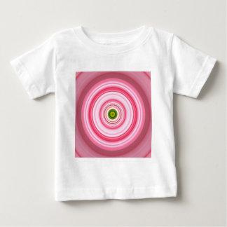 Hypnotic Circle Fuchsia Green Baby T-Shirt