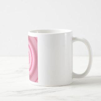 Hypnotic Circle Fuchsia Green Coffee Mug
