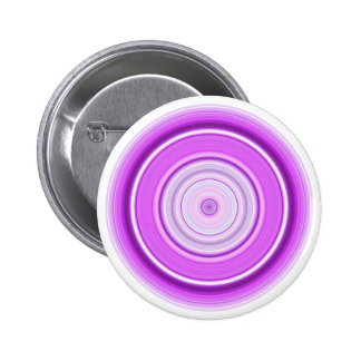 Hypnotic Circle Purple 2 Inch Round Button