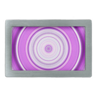 Hypnotic Circle Purple Belt Buckles