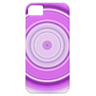 Hypnotic Circle Purple Case For The iPhone 5