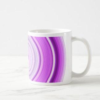 Hypnotic Circle Purple Coffee Mug