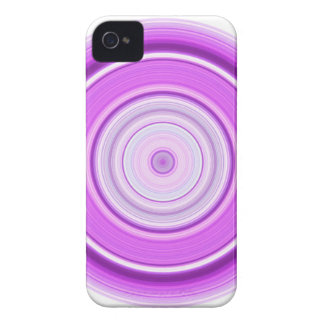 Hypnotic Circle Purple iPhone 4 Cover