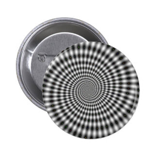 HYPNOTIC DESIGN 2 INCH ROUND BUTTON