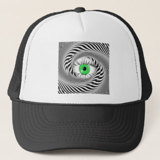 HYPNOTIC EYE - HYPNOTIST TRUCKER HAT