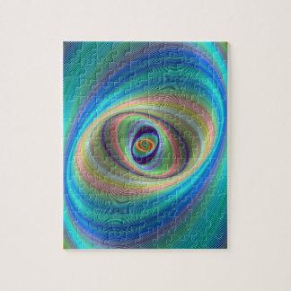 Hypnotic eye jigsaw puzzle
