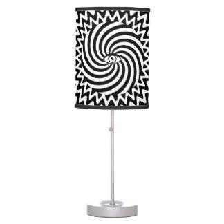 Hypnotic eye table lamp