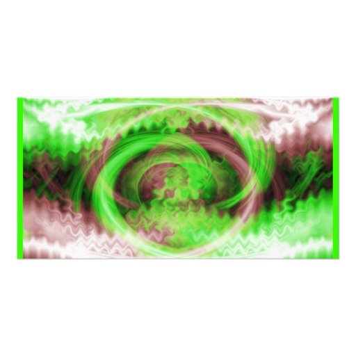 Hypnotic Fractal Picture Card