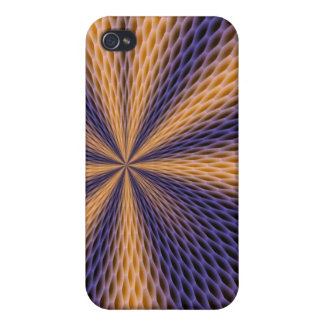 HYPNOTIC HONEY COMB COVER FOR iPhone 4