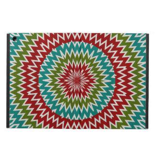 Hypnotic mandalaic flower iPad air case