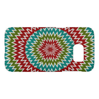 Hypnotic mandalaic flower samsung galaxy s7 case