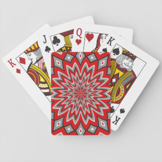 hypnotic moving deck of cards