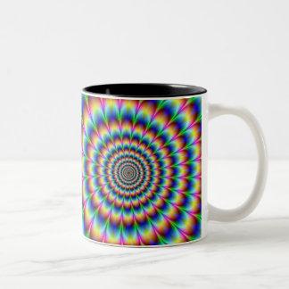 Hypnotic Mug! Two-Tone Coffee Mug