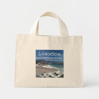 Hypnotic Pacific; Mexico Souvenir Mini Tote Bag
