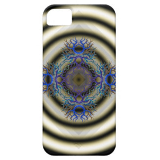 Hypnotic Rings with Pod of Life Patterns iPhone 5 Cover