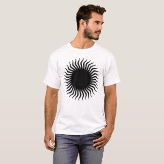 Hypnotic Solar Illustration T-Shirt