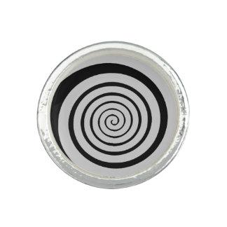 hypnotic spiral ring