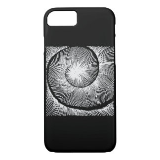 hypnotic spiral shell iPhone 8/7 case