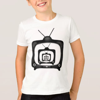 Hypnotic TV Kids Retro Style T-Shirt