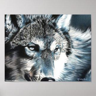 Hypnotic - Wolf Poster