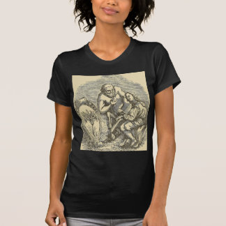 Hypnotism Drawing with Mirror T-Shirt