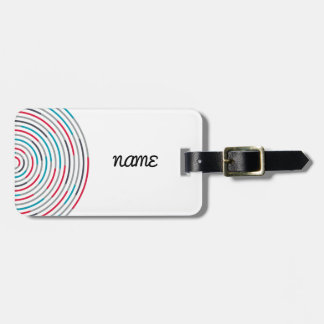 #Hypnotize Luggage Tag