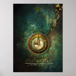 hypnotize on canvas poster