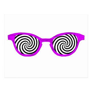 Hypnotize Sunglasses Purple Rim The MUSEUM Zazzle Postcards