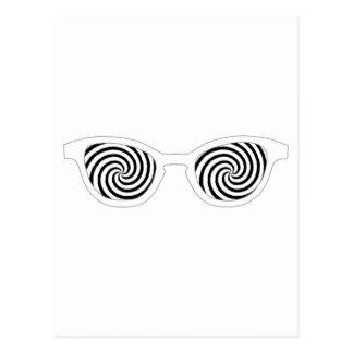 Hypnotize Sunglasses White Rim The MUSEUM Zazzle G Postcard