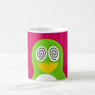 Hypnotized Penguin Coffee Mug